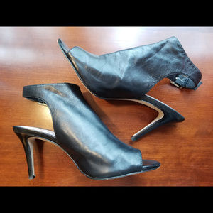 Vince Camuto Nissah Style Peep-toe Bootie Size 9
